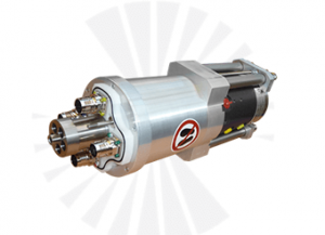 Combination of Slip Ring and Rotary Union ROTOKOMBI for machine tools