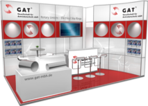 GAT booth at the EMO